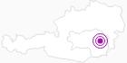 Unterkunft Urlaub am Huberhof im Almenland in der Oststeiermark: Position auf der Karte