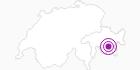 Unterkunft Chesa Chavaglietta in Engadin St. Moritz: Position auf der Karte