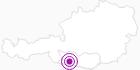 Unterkunft Hotel Moser am Weissensee in Kärnten in Nassfeld-Pressegger See - Lesachtal - Weissensee: Position auf der Karte
