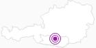 Unterkunft Almhütte Obervostlhaus in der Region Nockberge Bad Kleinkirchheim: Position auf der Karte