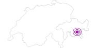 Unterkunft Au Reduit 3-Zimmer in Engadin St. Moritz: Position auf der Karte