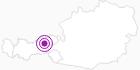 Unterkunft Bischoferhütte für 2-10 Personen im Ski Juwel Alpbachtal Wildschönau: Position auf der Karte