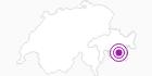Unterkunft Grischa 1 in Engadin St. Moritz: Position auf der Karte