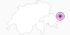 Unterkunft Haus Carnot in Scuol Samnaun Val Müstair: Position auf der Karte