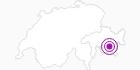 Unterkunft Surselva 12 (Chesa Gübelin) in Engadin St. Moritz: Position auf der Karte