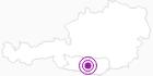 Unterkunft Grundnerhof in Hohe Tauern - die Nationalpark-Region in Kärnten: Position auf der Karte
