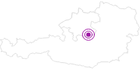 Unterkunft Ferienwohnung B Wurzeralm in Pyhrn-Priel: Position auf der Karte