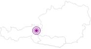 Unterkunft Almliesl BADK-538 in der Region Nockberge Bad Kleinkirchheim: Position auf der Karte