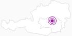 Unterkunft Angererhof - www.angererhof.net in der Hochsteiermark: Position auf der Karte