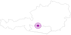 Unterkunft Katschberg Lodge in der Katschberg-Rennweg: Position auf der Karte
