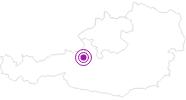Unterkunft OMP-Tools Innsbruck im Dachstein Salzkammergut: Position auf der Karte