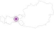 Unterkunft Bromberghütte Hochfügen im Zillertal: Position auf der Karte