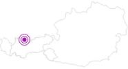 Unterkunft SKIPAUSCHALE 3 TAGESSKIPASS +5 ÜN p.P. € 330,-- KOMFORT-FEWO TIROL - am Skigebiet in der Naturparkregion Reutte: Position auf der Karte