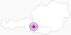 Unterkunft Gasthof Gutenbrunn in Hohe Tauern - die Nationalpark-Region in Kärnten: Position auf der Karte