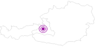 Unterkunft Portis Appartements am Hochkönig: Position auf der Karte
