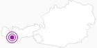 Unterkunft Apart Alpenglühn in Paznaun - Ischgl: Position auf der Karte