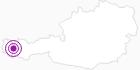Unterkunft Pension Jehle am Arlberg: Position auf der Karte