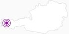 Unterkunft Pension Mosella am Arlberg: Position auf der Karte