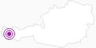 Unterkunft Hotel Ulli in der Alpenregion Bludenz: Position auf der Karte