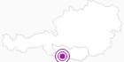 Unterkunft Hotel Bürgerbräu in Hohe Tauern - die Nationalpark-Region in Kärnten: Position auf der Karte