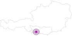 Unterkunft Hotel SCHLOSS Lerchenhof in Hohe Tauern - die Nationalpark-Region in Kärnten: Position auf der Karte