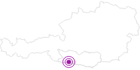 Unterkunft Ferienhäuser Oberjörg in Hohe Tauern - die Nationalpark-Region in Kärnten: Position auf der Karte