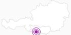 Unterkunft Haus Oswald in Hohe Tauern - die Nationalpark-Region in Kärnten: Position auf der Karte