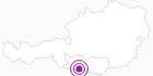 Unterkunft Haus Jarnig in Nassfeld-Pressegger See - Lesachtal - Weissensee: Position auf der Karte