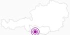 Unterkunft Landhaus Mitsche in Hohe Tauern - die Nationalpark-Region in Kärnten: Position auf der Karte