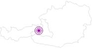 Webcam Schmitten Hochmais in Saalbach-Hinterglemm: Position auf der Karte