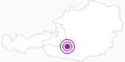 Webcam Katschberghöhe, Aineck am Lungau: Position auf der Karte