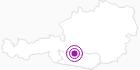 Accommodation Familiengasthof Post in the Katschberg-Rennweg: Position on map