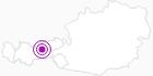 Unterkunft Hubertusstub`n in der Region Hall - Wattens: Position auf der Karte