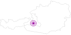 Unterkunft Gästehaus Alpina im Gasteinertal: Position auf der Karte