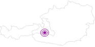 Unterkunft Hotel Bismarck im Gasteinertal: Position auf der Karte