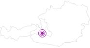 Unterkunft Alpen Domicil Therme-Spa Sendlhof im Gasteinertal: Position auf der Karte