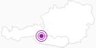Unterkunft ALM-Appartements Regina in Hohe Tauern - die Nationalpark-Region in Kärnten: Position auf der Karte