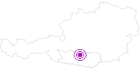 Unterkunft Almhaus Blümel in Hohe Tauern - die Nationalpark-Region in Kärnten: Position auf der Karte