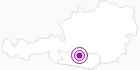 Unterkunft Dicktlhof in Hohe Tauern - die Nationalpark-Region in Kärnten: Position auf der Karte