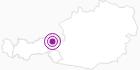 Unterkunft ALPENROSE in der Ferienregion Hohe Salve: Position auf der Karte