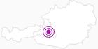 Unterkunft Hotel Alpina in der Salzburger Sportwelt: Position auf der Karte