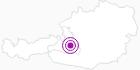 Webcam Wagrain - Grießenkareck in der Salzburger Sportwelt: Position auf der Karte