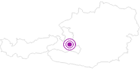 Unterkunft Aparthotel Rubinius in der Salzburger Sportwelt: Position auf der Karte