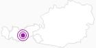 Unterkunft Hotel Garni Bergland in Stubai: Position auf der Karte
