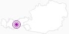 Unterkunft Starkenburger Hütte in Stubai: Position auf der Karte