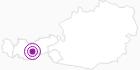 Unterkunft Ferienwohnung Marian in Stubai: Position auf der Karte