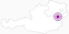 Unterkunft Gästehaus Gleinser in Donau Niederösterreich: Position auf der Karte