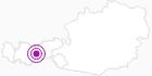 Unterkunft Schlickeralm in Stubai: Position auf der Karte