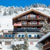 Front of Hotel on arrival from Riederalp West Cable Car Station