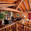 livingroom chalet du saut